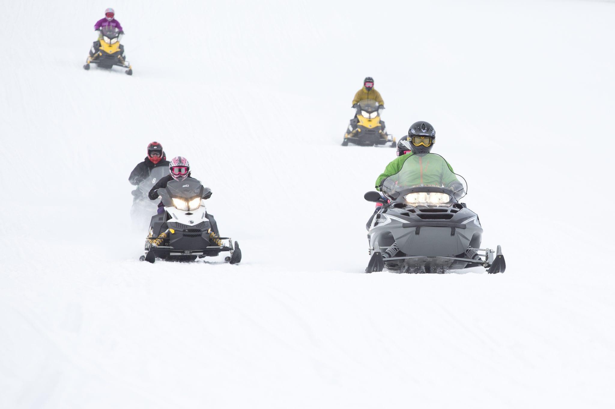 Hestekrefter på scooter