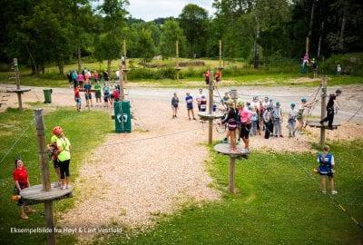 Høyt og Lavt klatreparken åpner i Hemsedal sentrum 23. juni!!!