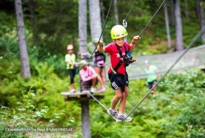 Hemsedal Høyt & Lavt Climbingpark opens 23rd of June!